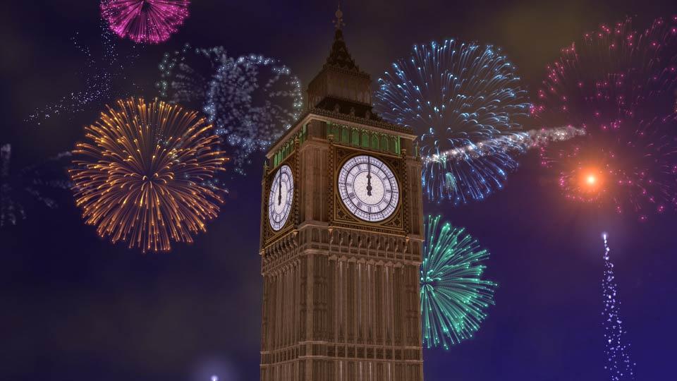 New Year Countdown Visuals