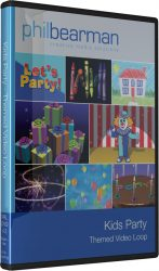 Kids Party Visuals - Packshot